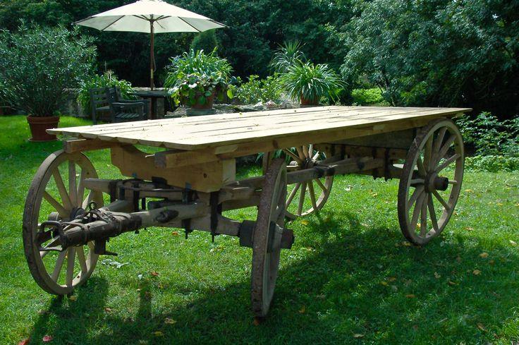 Verleih Holzwagen, Leiterwagen, Candy Cart, Candy Bar