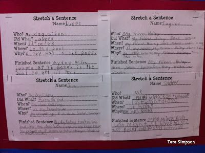 Tara Teaches: Search results for stretch sentence