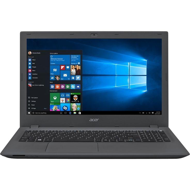 "Acer - Aspire E 15 15.6"" Refurbished Laptop - Intel Core i5 - 4GB Memory - 1TB Hard Drive - Gray, Black"