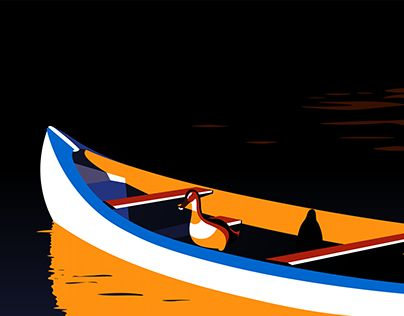 """Check out new work on my @Behance portfolio: """"Duck Boat"""" http://be.net/gallery/54964983/Duck-Boat"""