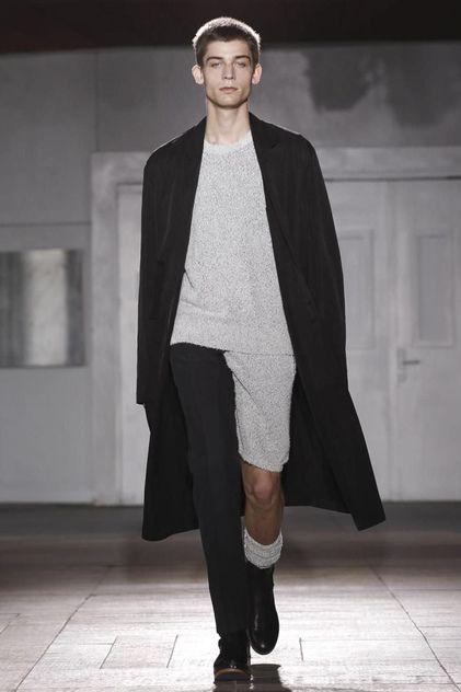 Long cardigan/coat Maison Martin Margiela Menswear Spring Summer 2015 Paris