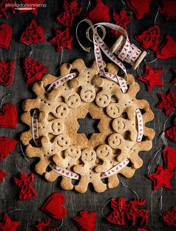 muñecos jengibre gingerbread men Christmas Navidad