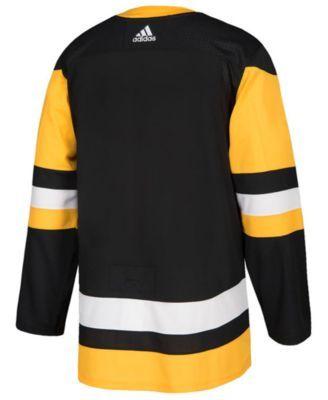 adidas Men's Pittsburgh Penguins Authentic Pro Jersey - Black 52