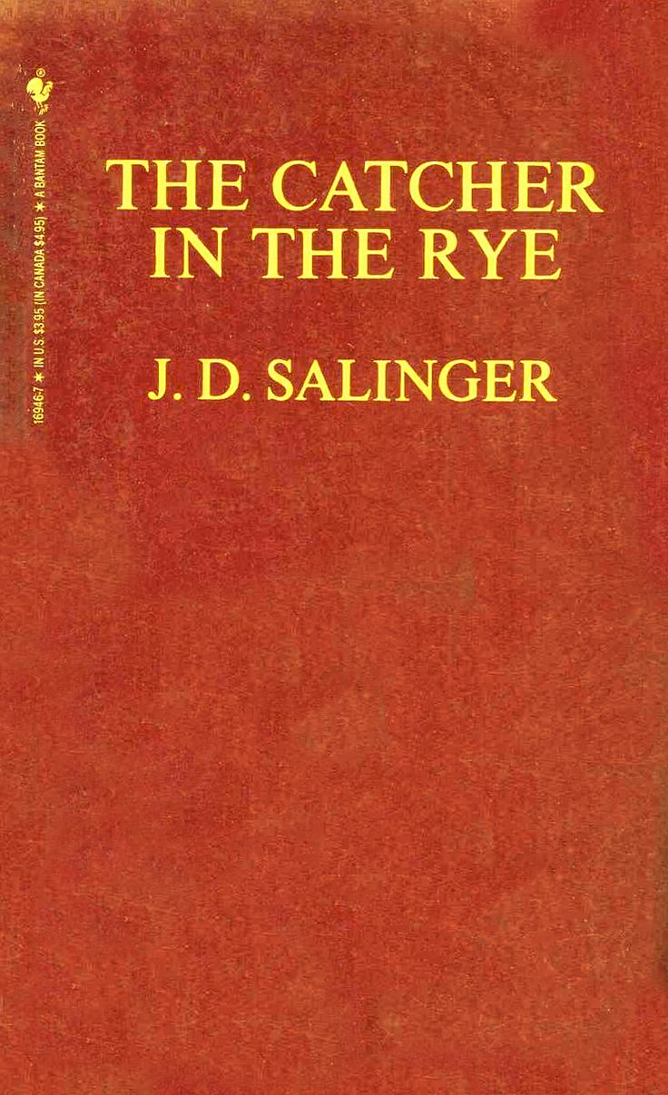Catcher-in-the-rye-red-cover - J.D. Salinger - Wikipedia