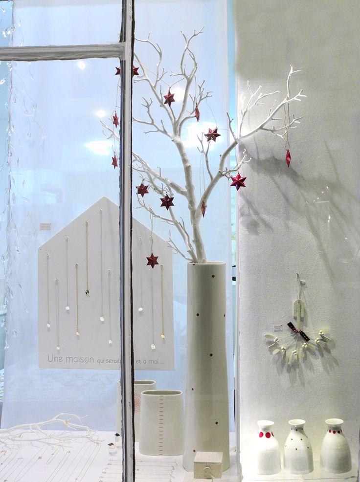 vitrine de noel fanchon en mars vitrines display