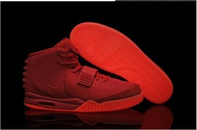 """Kanye West Nike Air Yeezy 2 """"Red October"""" light shoes"""