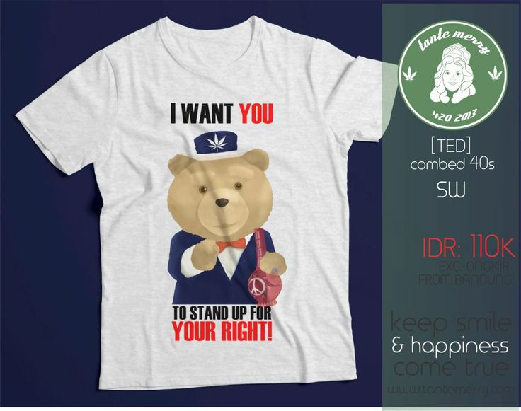 TED: I WANT YOU to stand up for your right! yesman :)