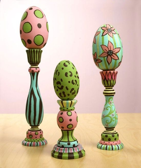 56 Inspirational Craft Ideas For Easter. I don't usually decorate for Easter but I love this! I just might this yeat