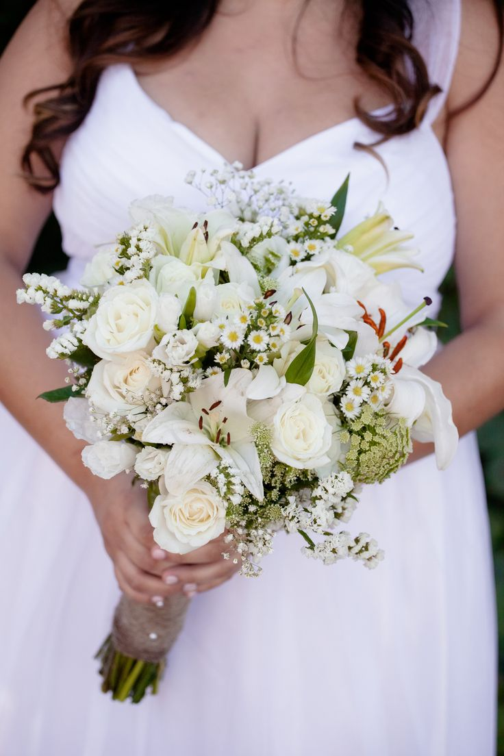 DIY costco flowers wedding bouquet