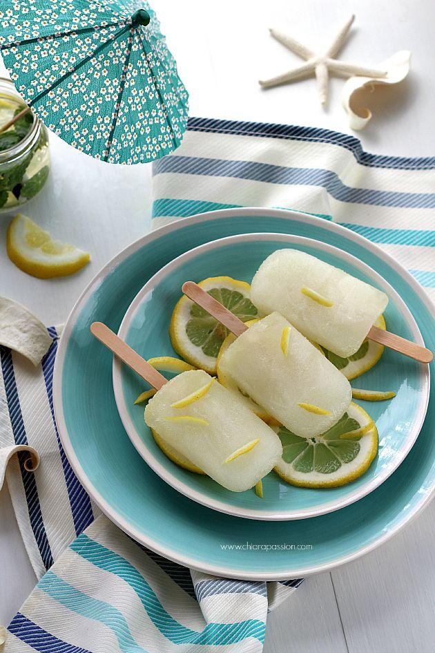 Chiarapassion: Ghiaccioli al limone homemade