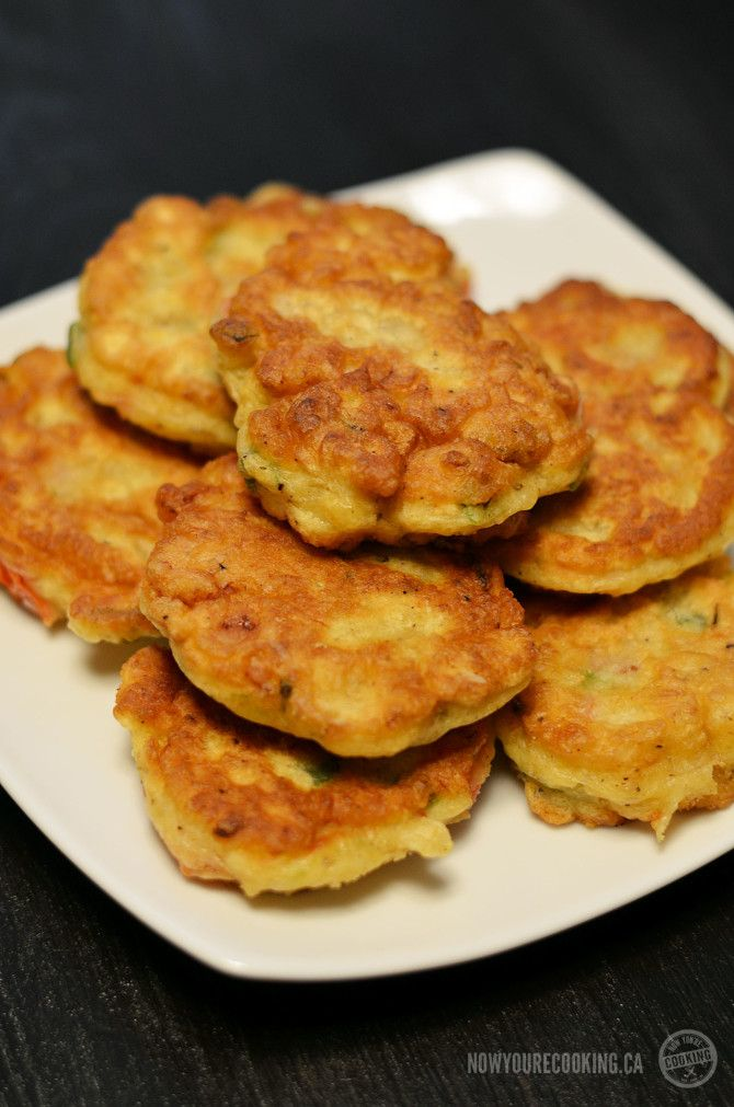 Now You're Cooking - Jamaican Saltfish Fritters