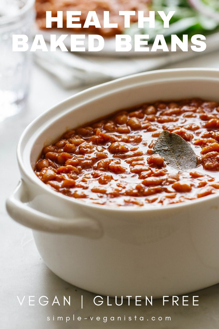 Healthy Baked Beans (Instant Pot or Slow Cooker)… Full of flavor and nutrition…
