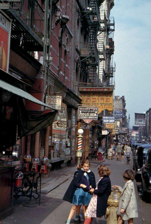 NYC. Lower Manhattan (1942)