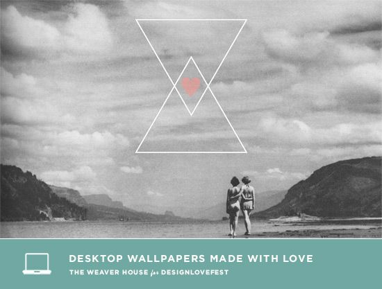Love Triangle Wallpapers : DRESS YOUR TEcH / 05 triangle friend love Desktop ...