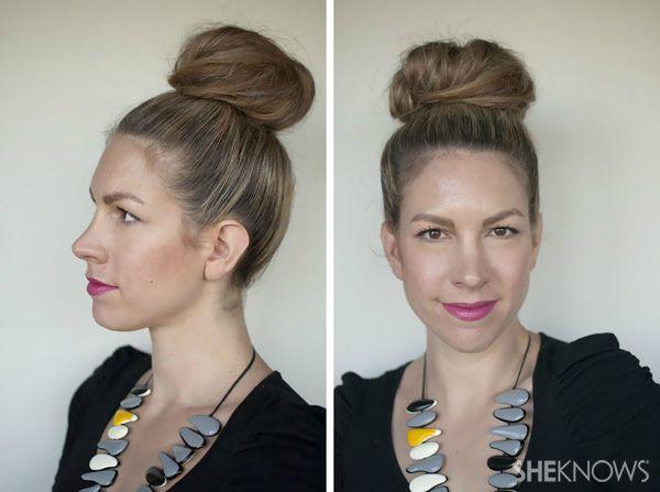 A bun a day, 7 bun styles to take you through the week!