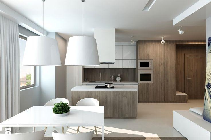 Kuchnia z jadalnią - zdjęcie od design me too - Kuchnia - Styl Minimalistyczny - design me too
