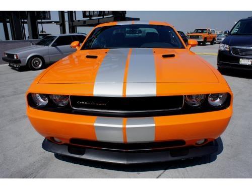 2012 Orange Gray Dodge Challenger 2dr Cpe SRT8 392 http://www.iseecars.com/used-car-finder