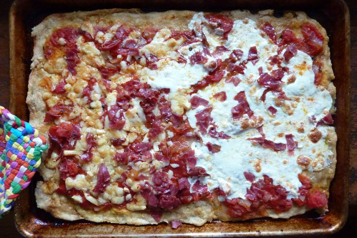 Charcuterie pizza!