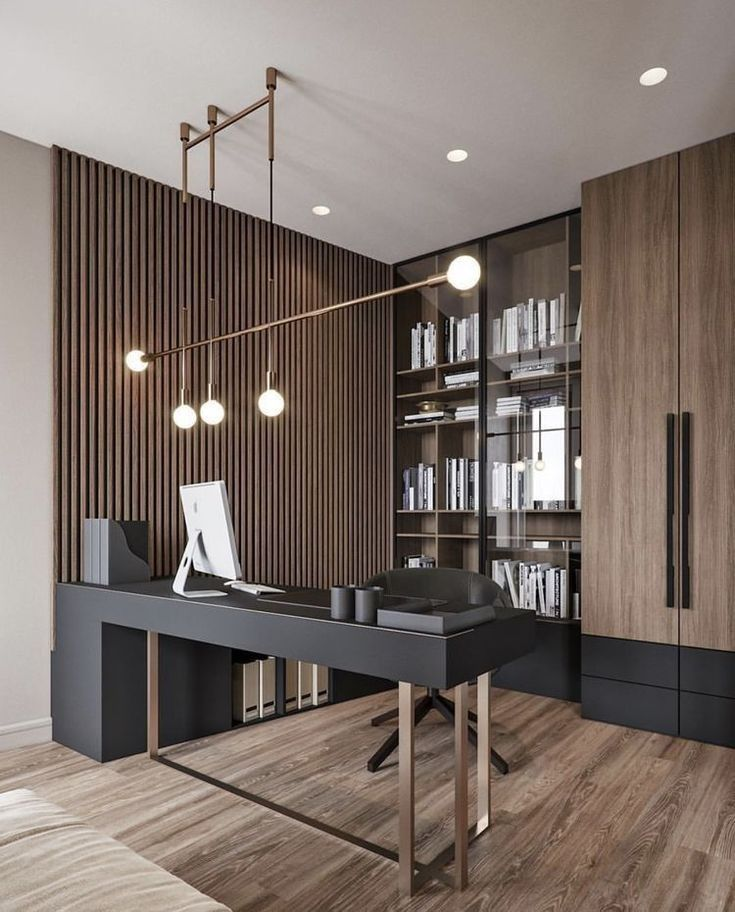 Stunning Interior Decorating Style With The Top Best Modern Home Office Designs 34 In 2020 Home Office Design Office Interior Design Modern Office Design
