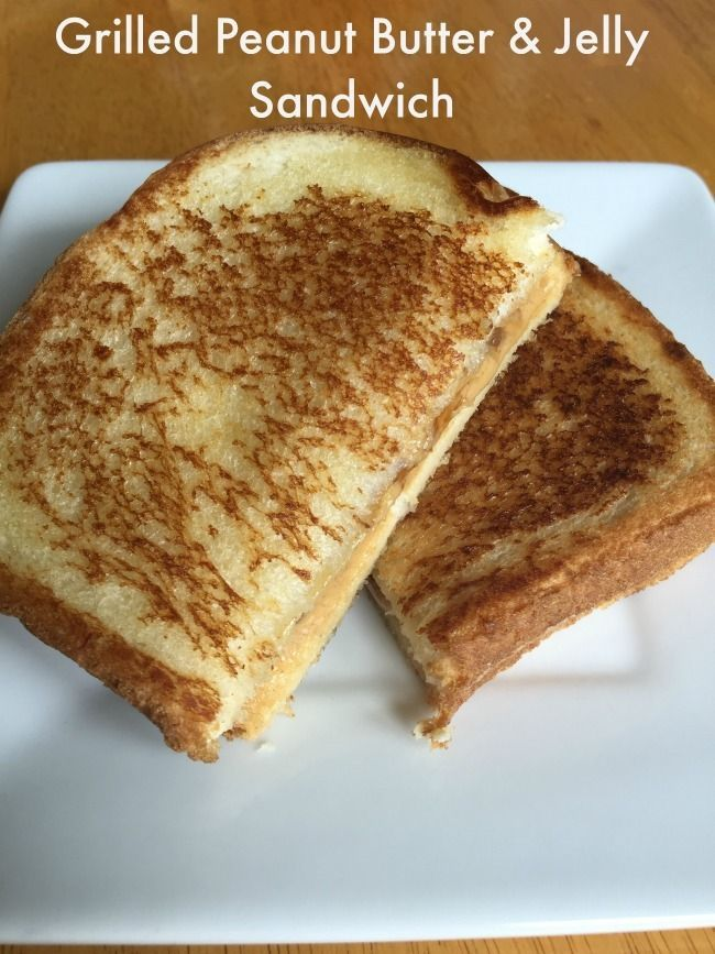 peanut butter and jelly sandwich! Grilled Peanut Butter and Jelly ...