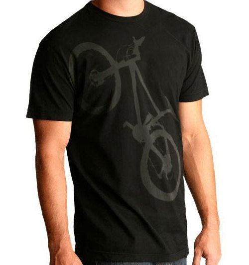 Mountain Bike graphic tee. $20.00, via Etsy.