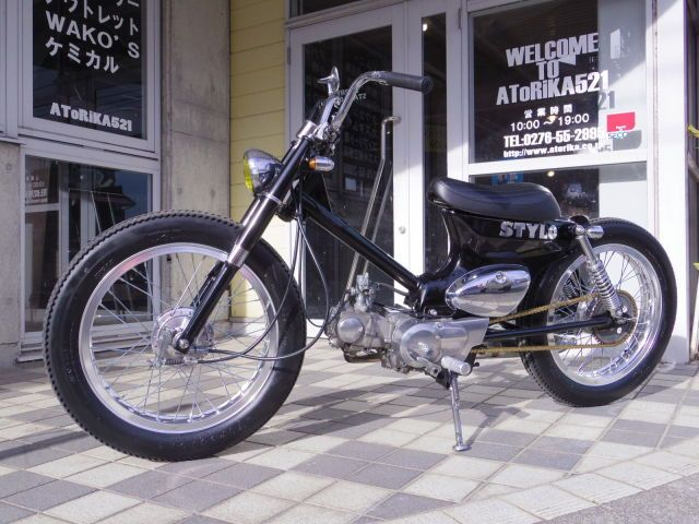 ホンダ スーパーカブ50の車両情報を見る - AToRiKA 521 GARAGE SERVICE| 新車・中古バイク検索サイト ウェビック バイク選び