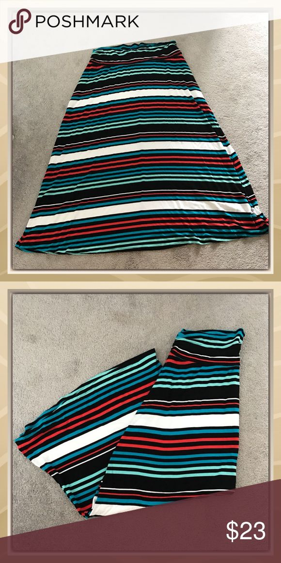 17 best ideas about striped maxi skirts on