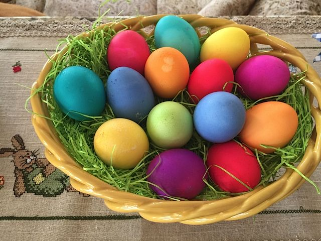 96 best easter images on pinterest easter germany and grandchildren easter colored eggs httptheomawayfestivitiessee why colored eggsgift ideaseastergift tags negle Image collections