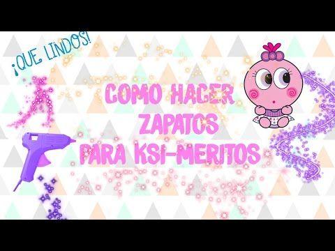 COMO HACER ZAPATOS PARA TU KSI- MERITO | DANY Y SU KSIMERITO - YouTube