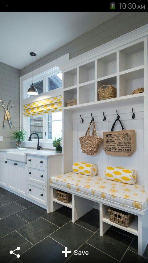 Home. Yellow. Cute ideas.