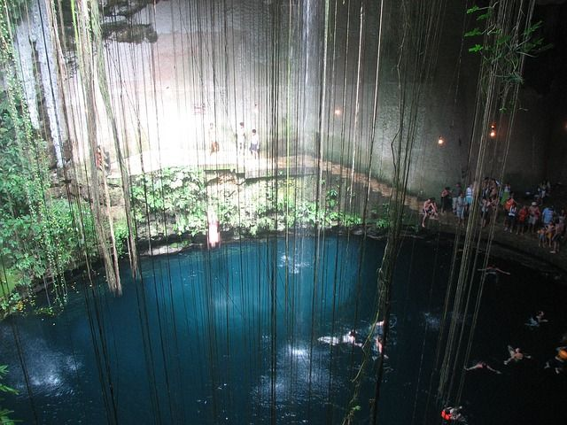Cenotes in Mexiko