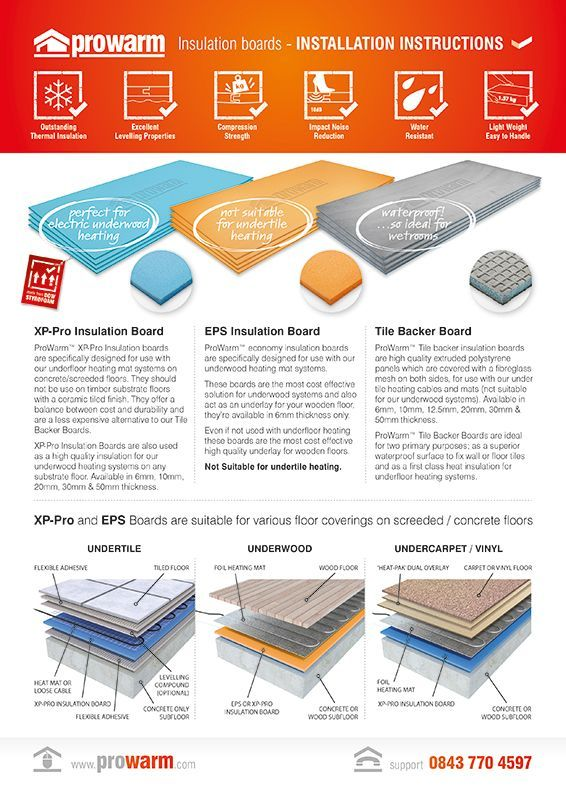 The 7 best underfloor heating installation guide images on pinterest how to install underfloor heating the underfloor heating store asfbconference2016 Images
