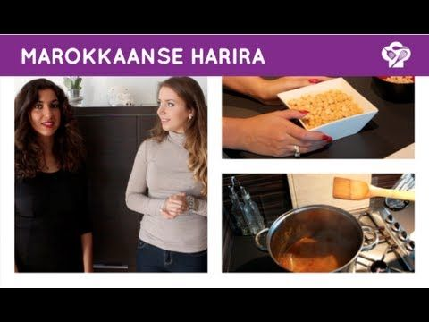 Marokkaanse harira - Foodgloss - YouTube