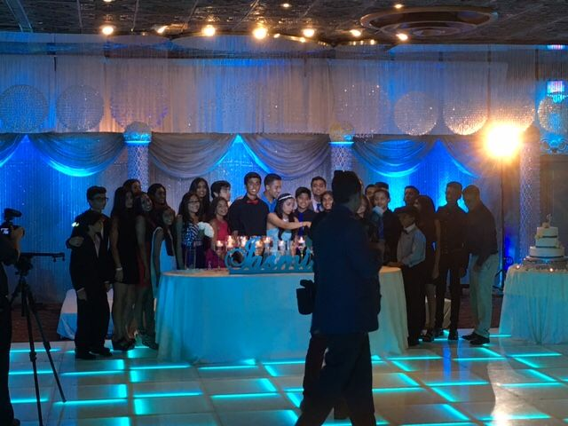 LED Lighted Dance Floor gives dramatic look to any Event or Occasion.  Even simple Cake Cutting looks more stunning with the LED Dance Floor Set up.