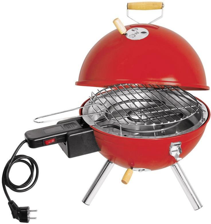 Barbecue électrique de table en Acier 30x42cm sur JardinDeco.com