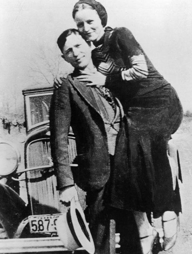 Bonnie Parker et Clyde Barrow