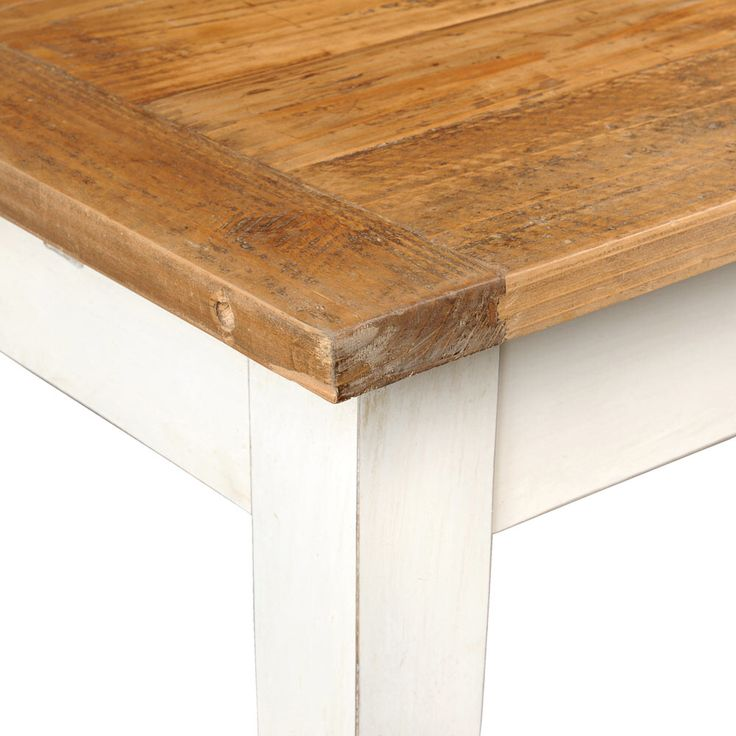 Table diner tradition de maisons du monde d co maison - Table industrielle maison du monde ...