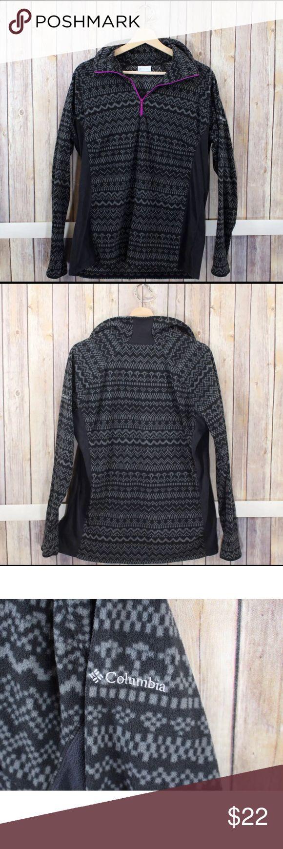 Columbia Sportswear Pullover Fleece size XL. Columbia Sportswear Black and Gray Pullover Fleece size XL. Columbia Tops Sweatshirts & Hoodies