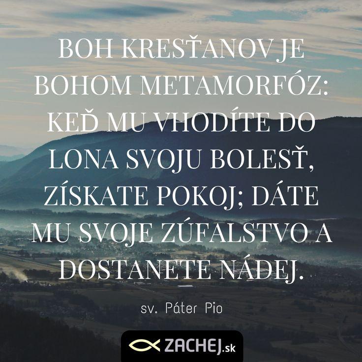 Hĺbka slov Pátra Pia ma udivuje čoraz viac. Slová, ktoré nesú moc a skúsenosť zo živým Bohom. <<https://goo.gl/YxhTpt>> #zachejsk #knihyzachej #citatyzachejsk #dnescitam #cocitat