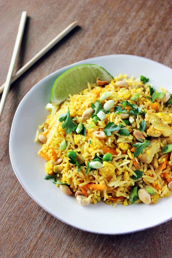 Nasi Goreng - a simple Indonesian fried rice dish. Better than takeout!