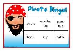 Pirate bingo