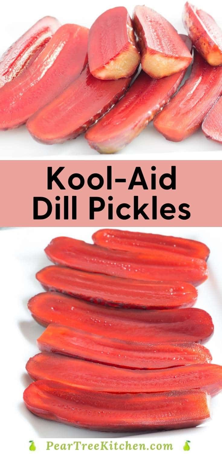 Souther Kool Aid Pickles Fruit Flavored Candied Pickles Recipes Pickling Recipes Finger Food Appetizers Appetizer Recipes