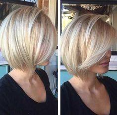 Straight Hair Bob Cut