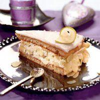 Новогодние десерты. Орехово-грушевый торт