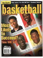 Hasim BR: Tyson Chandler Eddy Curry Diop Kwame Beckett Magazine September 2001 Issue# 134