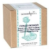 SerendipiTea Congo Bongo, Coconut, Mango & Organic Black Tea, 4-Ounce Boxes (Pack of 2) (Grocery)By SerendipiTea