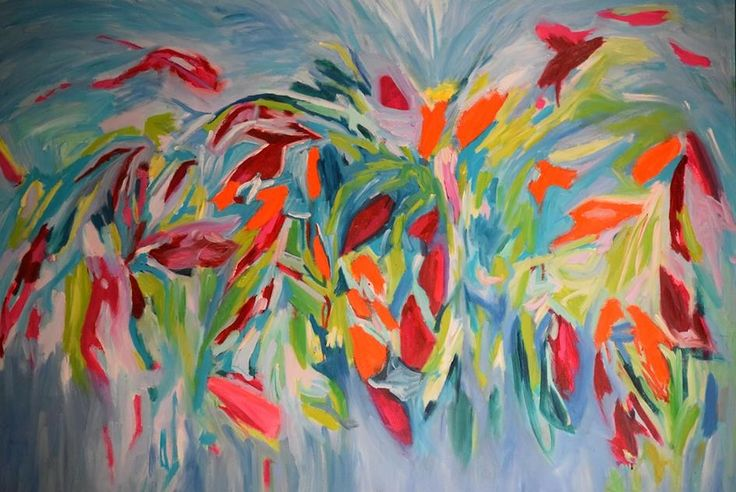 Untitled  Geraldine Gillingham 36x48 Oil On Canvas
