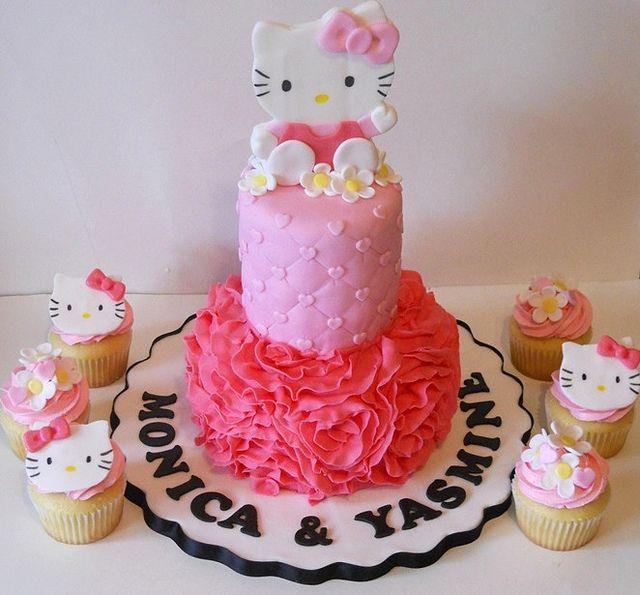 Hello Kitty Zebra Cupcake Cake   www.pixshark.com - Images ...
