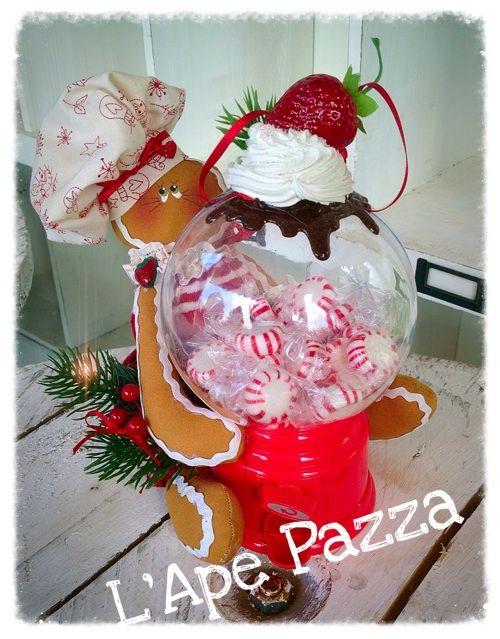 Cartamodelli ginger Natale 2015 : Cartamodello ginger jelly