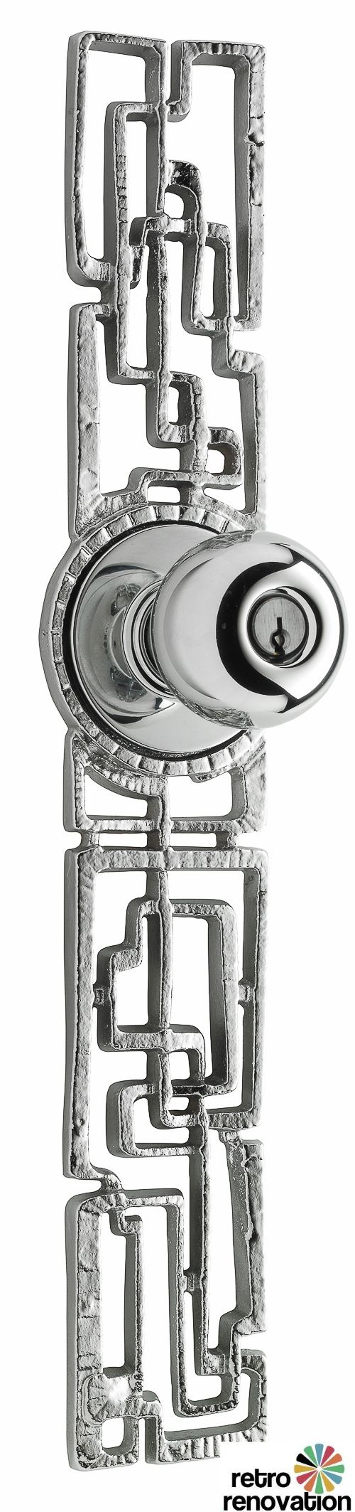 midcentury modern Samba exterior door hardware